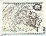 A new map of Virginia : from the best authorities / by T. Kitchen, geogr.