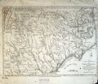 A new and accurate map of North Carolina and part of South Carolina : with the field of battle...
