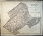Map of Botetourt County : from surveys and reconnaissances / made by Lieut Walter Izard Engrs....