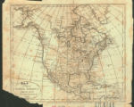 A Map of North America from the latest authorities 1799.