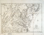A New and accurate map of Virginia : and part of Maryland and Pennsylvania / Jno. Lodge, sculp.