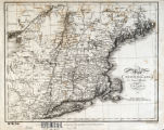 Map of New England, New York, and part of Canada / Neele, sculp.