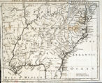 A map of Virginia, North and South Carolina, Georgia, Maryland with part of New Jersey &c.
