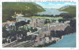 U.S. Military Academy, West Point, N.Y. looking north from an aeroplane