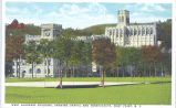 West Academic Building, Showing Chapel and Observatory, West Point, N.Y.