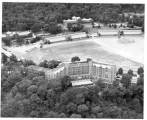 Aerial view of Hotel Thayer