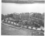 [Aerial view of the Hotel Thayer]