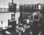 [USMA Library interior]