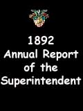 1892 Annual Report of the Superintendent - United States Military Academy
