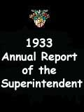 1933  Annual Report of the Superintendent - United States Military Academy