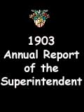1903  Annual Report of the Superintendent - United States Military Academy
