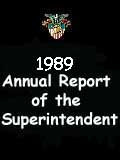 1989 Annual Report of the Superintendent - United States Military Academy