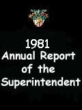 1981 Annual Report of the Superintendent - United States Military Academy