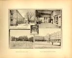 """Barracks in Midwinter"" ""Vista of Plain for sally port"" ""Cadets'..."