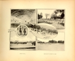 """Interior - riding hall"" ""Parade in camp"" ""Horseback riding - Saturday..."