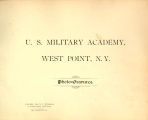 """United States Military Academy, West Point, N.Y.: Photo-Gravures"" Title page"